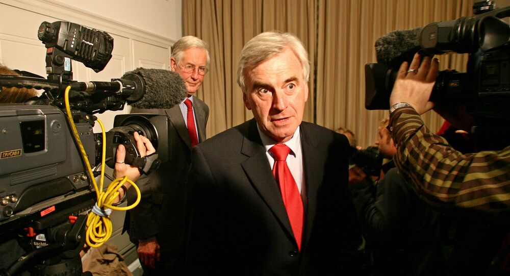 Jeremy Corbyn has appointed Member of Parliament John McDonnell as the shadow chancellor of the exchequer.