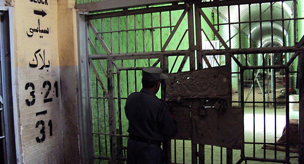 Jail in Kandahar