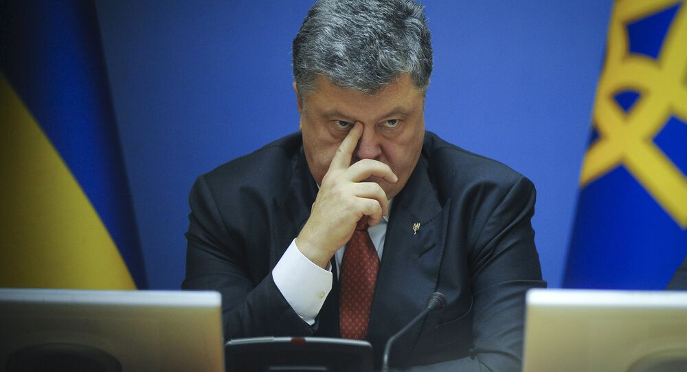 "Ukrainian President Petro Poroshenko became furious after a New York Times article criticized Ukraine for being embroiled in corruption and accused the US newspaper for waging ""hybrid warfare"" against Kiev, Ukrainskaya Pravda reported."