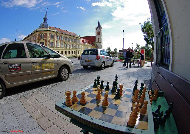 Hungarian taxi