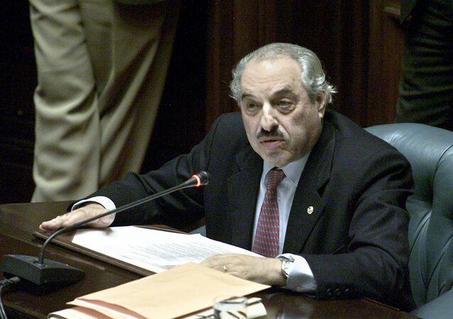 Former Uruguayan senator Alberto Couriel