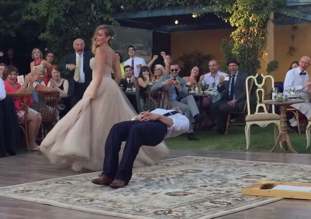 Bride Puts a Spell on Her Groom