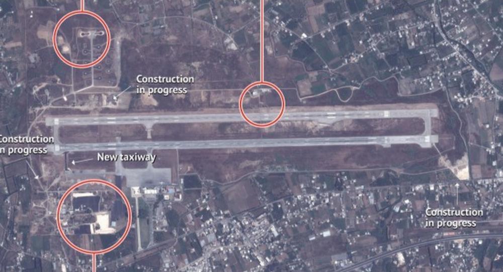 Stratfor's satellite imagery