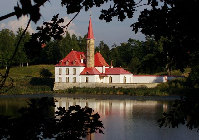 Priory Palace in Gatchina, St. Petersburg, Russia