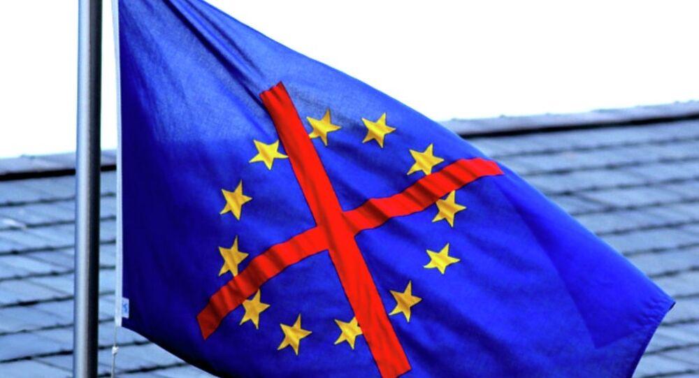 Anti-EU flag
