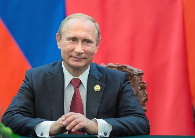 Russian President Vladimir Putin's visit to China. Day Two