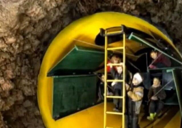 Estonian mobile bomb shelter