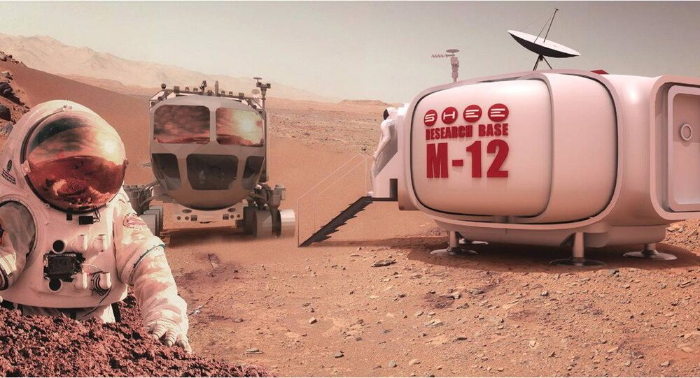 A self-deployable habitat can save crews valuable time in setting up quarters on faraway locales like Mars.