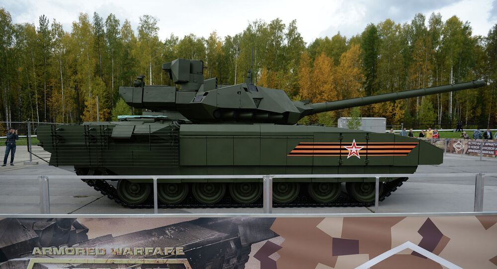 Armata: New Secrets of Russia's 'Future Tank' Unveiled