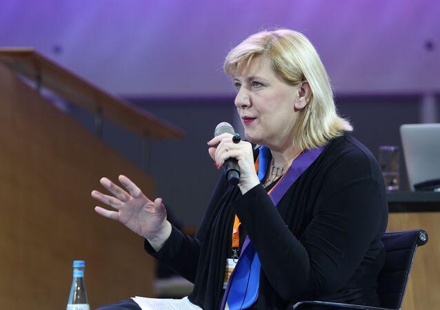 Dunja Mijatovic (Representative on Freedom of the Media, OSCE).