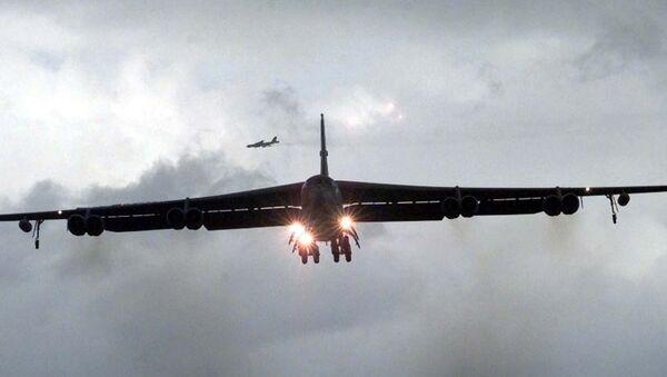 An American B-52 bomber - Sputnik International
