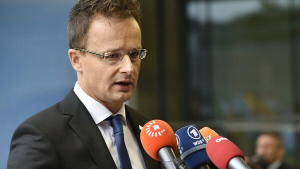 Hungary Foreign Affairs Peter Szijjarto - Sputnik International