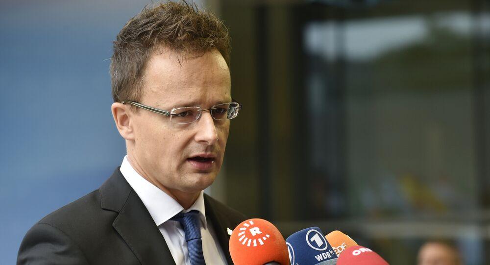 Hungary Foreign Affairs Peter Szijjarto