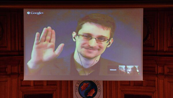 US National Security Agency (NSA) whistleblower Edward Snowden - Sputnik International