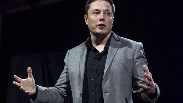 Elon Musk, CEO of Tesla Motors and SpaceX (File) - Sputnik International