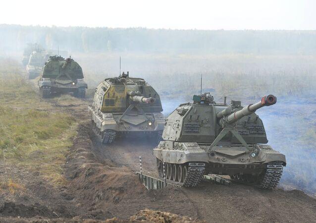 Center-2015 strategic command drill in Chelyabinsk Region
