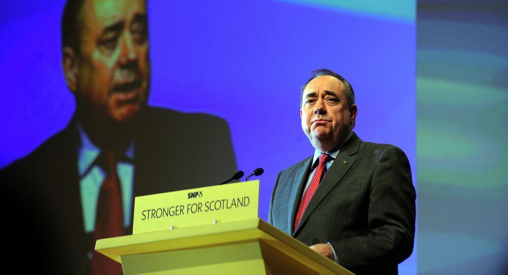 Scotland's Former First Minister Alex Salmond.