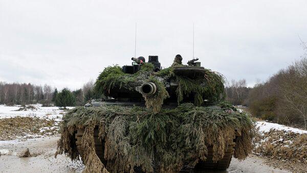 German army Leopard 2 - Sputnik International