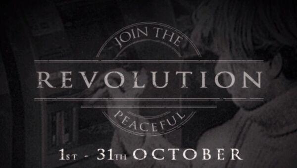 Anonymous launches Black October campaign. - Sputnik International