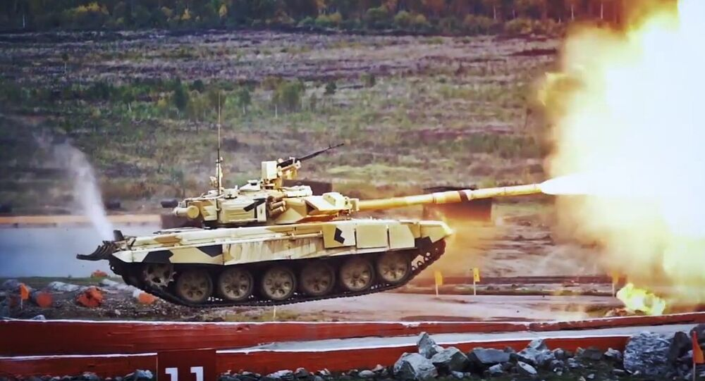 The T-90 tank