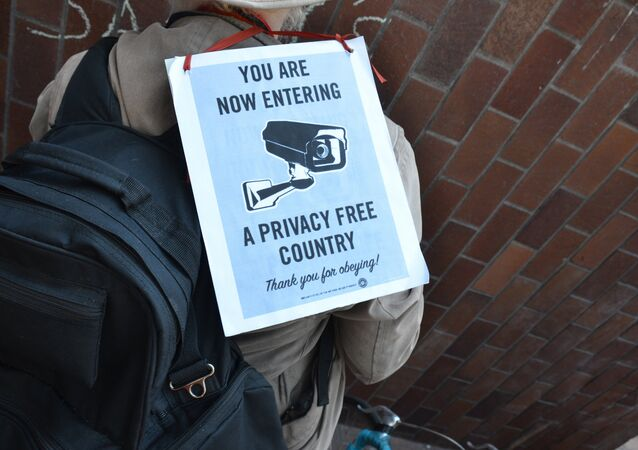 Restore the Fourth protest at AT&T - former site of secret NSA room