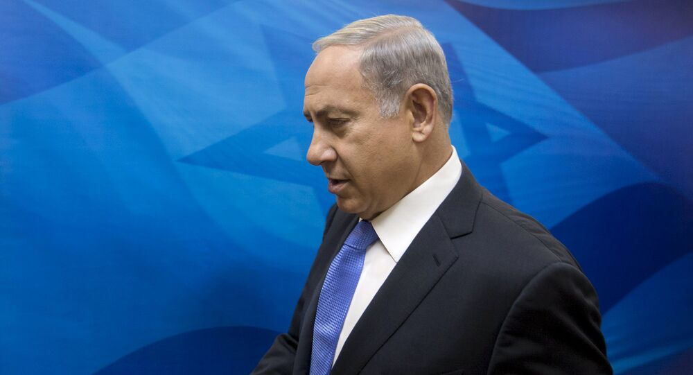 Israel's Prime Minister Benjamin Netanyahu arrives to the weekly cabinet meeting at his office in Jerusalem, September 20, 2015
