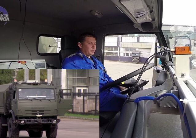Unmanned KAMAZ tests in Naberezhnye Chelny
