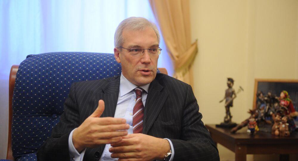 Deputy Foreign Minister Alexander Grushko