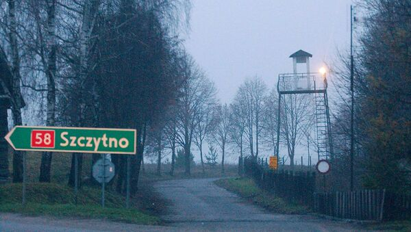 In this Friday, Dec. 16, 2005 file photo, a watch tower overlooks the area near the Polish intelligence school just outside of Stare Kiejkuty, Poland. - Sputnik International