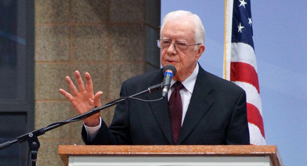 Former US President Jimmy Carter. File photo