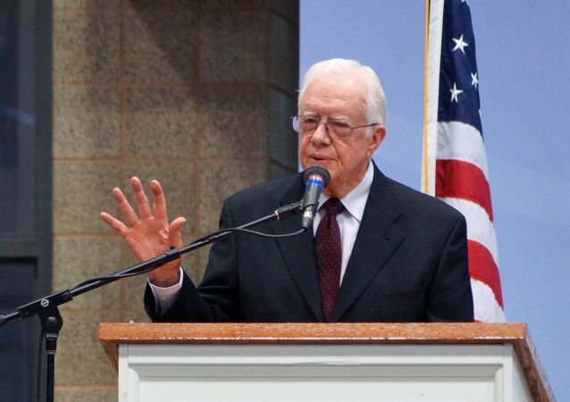 Former US President Jimmy Carter. File photo