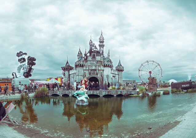 Banksy's Dismaland: Life Isn't Always a Fairy Tale