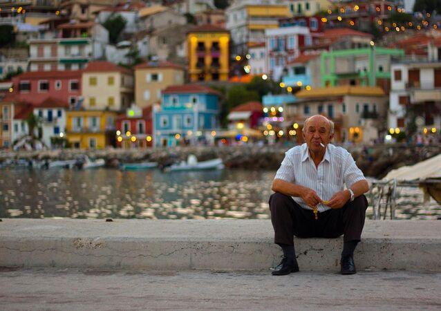 A Greek man