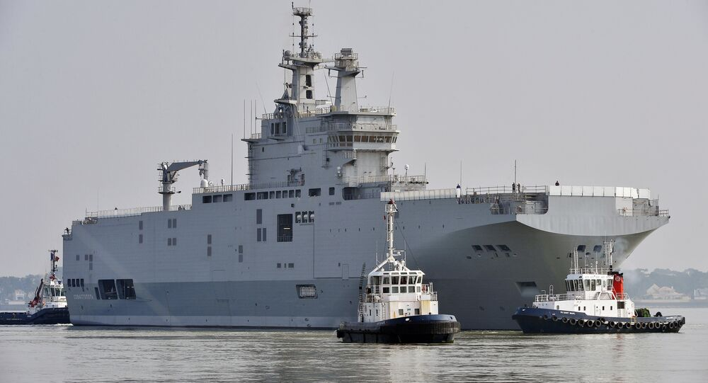 French President Francois Hollande has provoked a sarcastic response among the country's political figures after deciding to re-consider partnering with Russia; in particular, they pointed to the ill-fated Mistral helicopter carrier deal