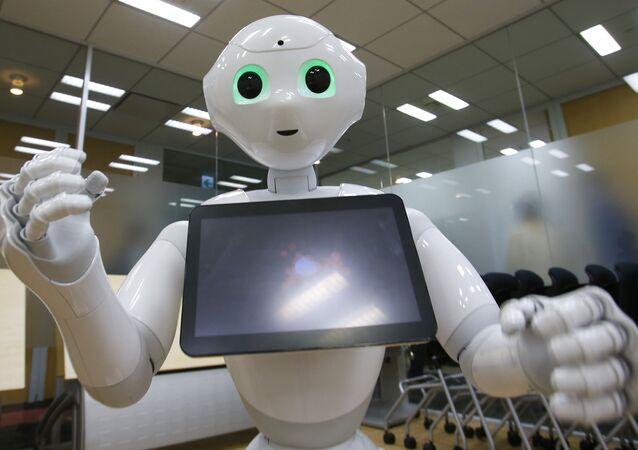 SoftBank Corp.'s new companion robot Pepper