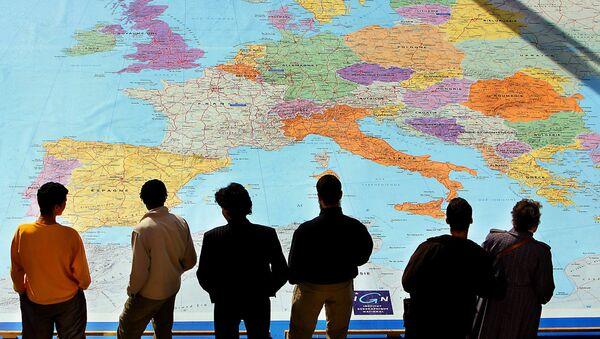 Map of Europe - Sputnik International