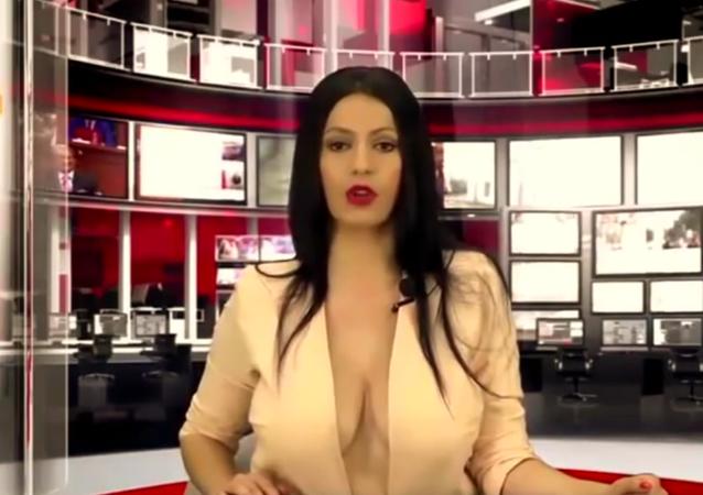 Enki Bracaj Zjarr news channel Albania