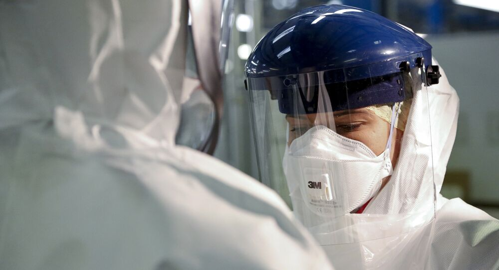 Checking Personal Protective Equipment (PPE) in the fight against Ebola