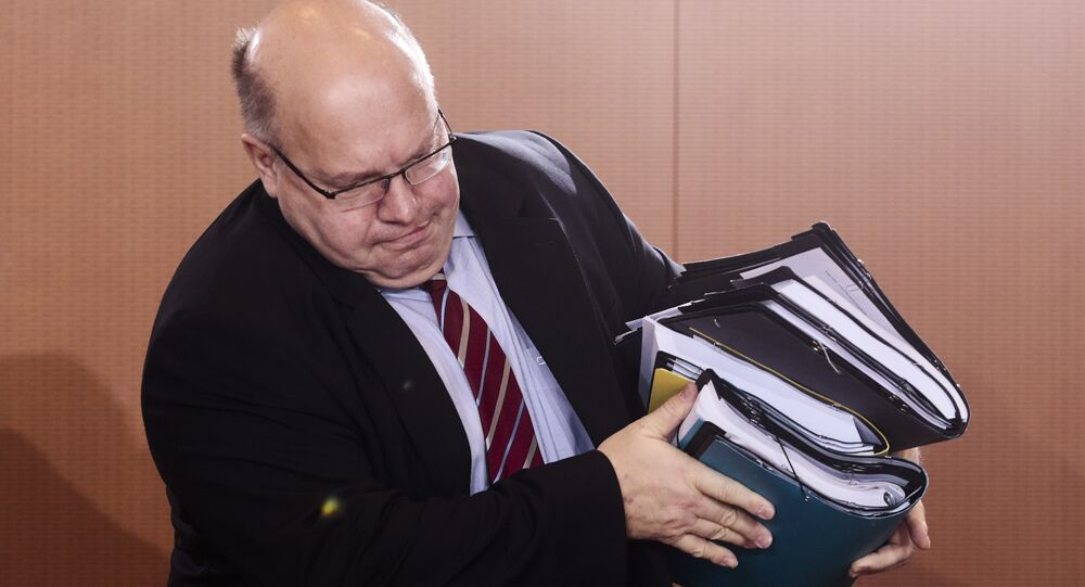 Head of the Chancellery Minister Peter Altmaier