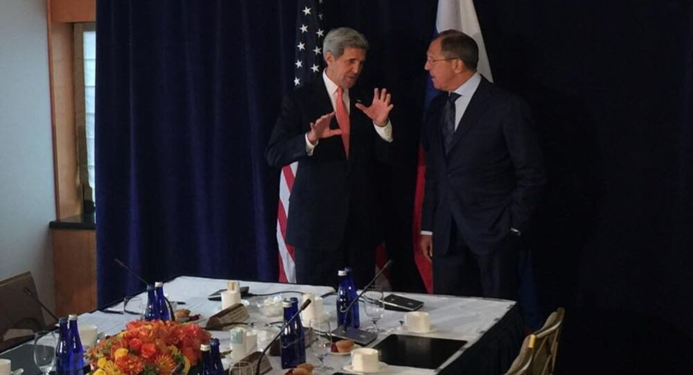 Lavrov-Kerry in New York