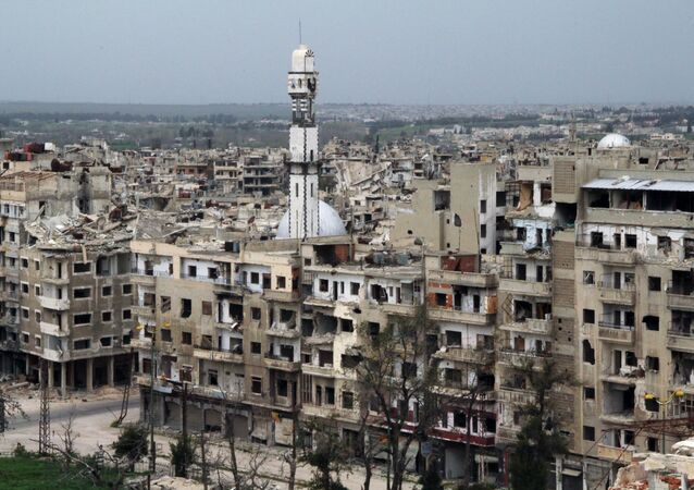 Situation in Homs, Syria