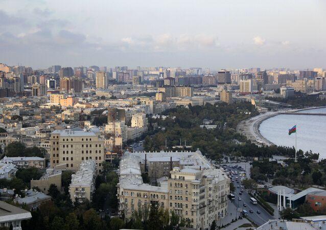 A view of Baku