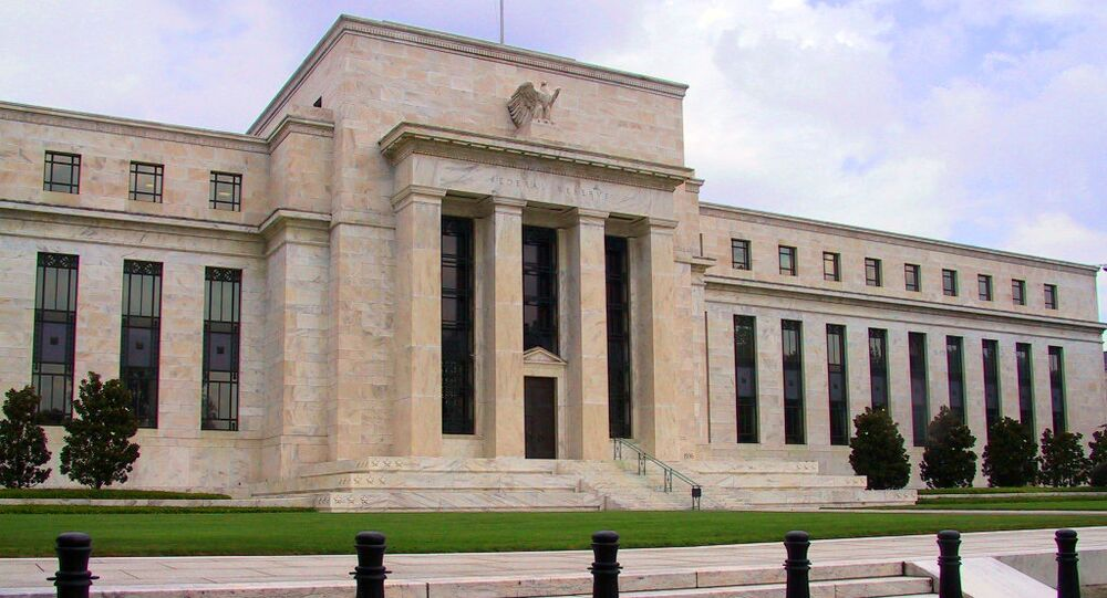 The Federal Reserve headquarters in Washington, DC