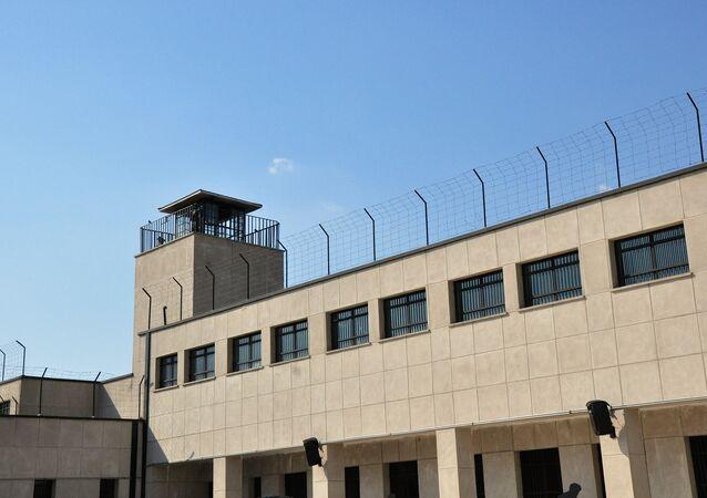 Prison building.