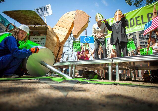 Anti-TTIP protest