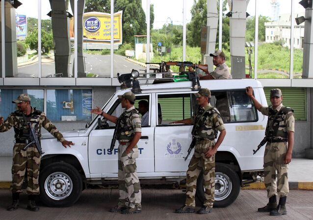 Indian security personnel. File photo