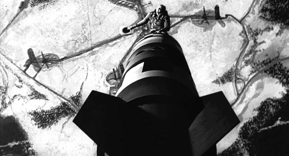 Still from the 1964 Stanley Kubrick film Dr. Strangelove