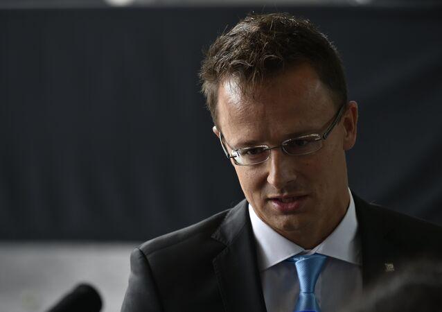 Hungary Foreign Affairs Péter Szijjártó