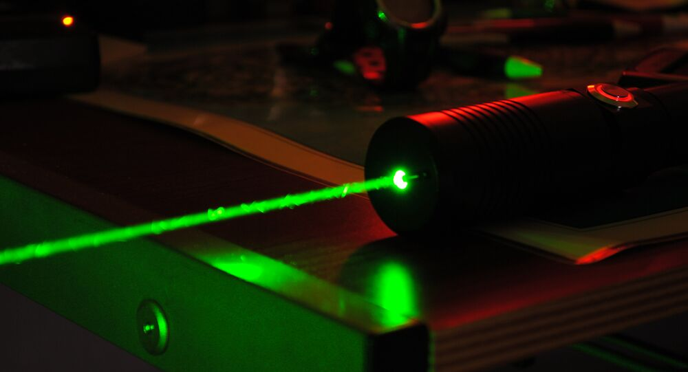 High-powered laser
