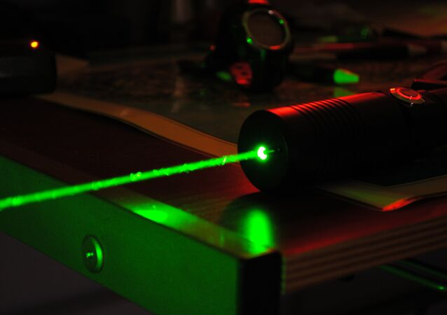 High-powered laser
